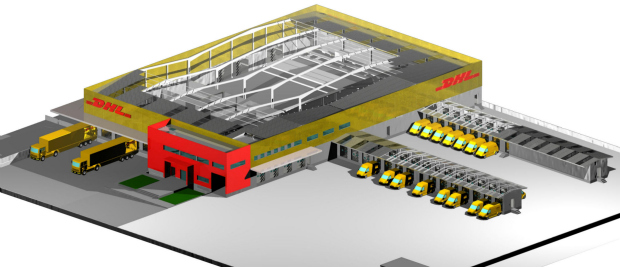 dhl investe 5m em terminal de carga no clca aeroporto. Black Bedroom Furniture Sets. Home Design Ideas