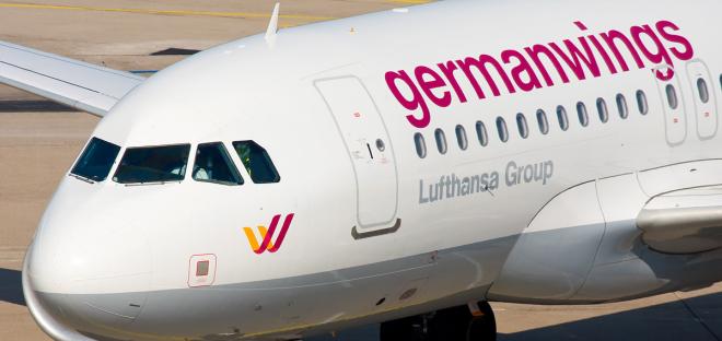 Airbus da Germanwings. Foto tirada por: Oliver Brunke