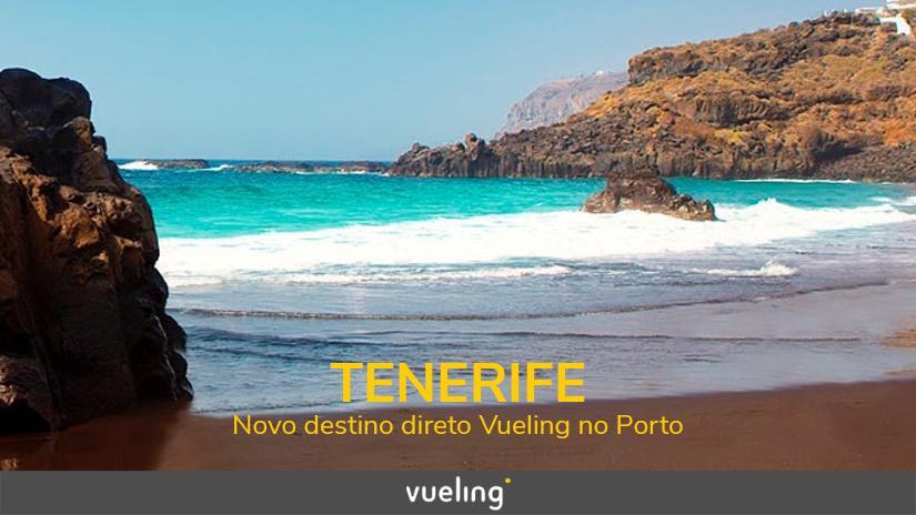 Vueling oferece voos para Tenerife a partir deJunho