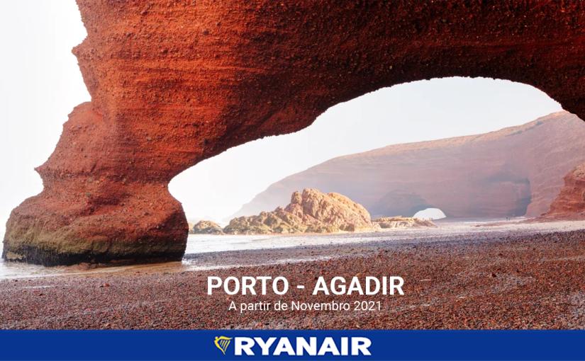 Agadir é o novo destino da Ryanair a partir deNovembro